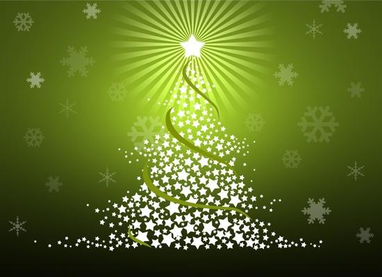 arbol navidad verde Cerramos el año 2011