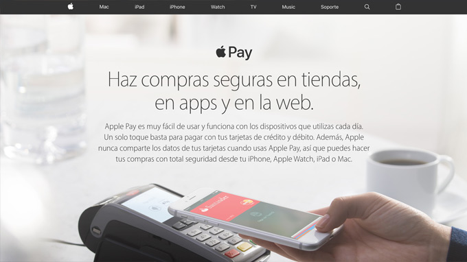 Pagar usando Apple Pay