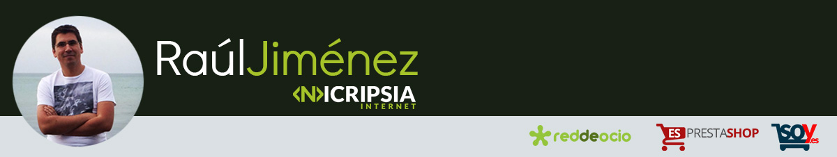 Raúl Jiménez – CEO Nicripsia Internet Experto en Ecommerce